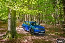 Dacia Logan Stepway Celebration - dacia logan mcv stepway celebration 2017 blau ubi testet