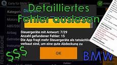 Fehlerspeicher Auslesen Und L 246 Schen App Bmw Pro
