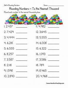 free worksheets rounding whole numbers 8079 rounding worksheets 3rd grade rounding to the nearest thousand worksheet teaching