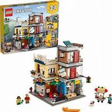 lego 174 konstruktionsspielsteine 187 stadthaus mit zoohandlung