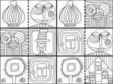 Malvorlage Hundertwasser Haus 1000 Images About Artist Hundertwasser On