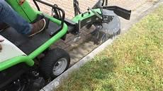 Rasenlüfter Selber Bauen - neuheit die unkrautb 252 rste f 252 r aufsitzm 228 hydro 124d