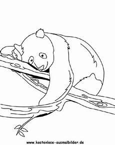 Ausmalbilder Tiere Panda Ausmalbild Panda 2 Zum Ausdrucken