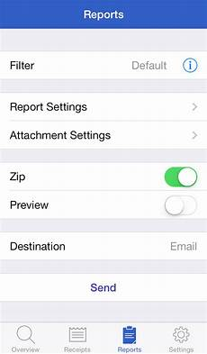 receipts iphone english evernote app center