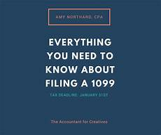 what s the deadline the 1099 deadline specifically 1099