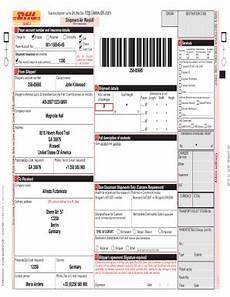 dhl international waybill online fill online printable fillable blank pdffiller