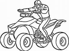 On Atv Coloring Page Supercoloring