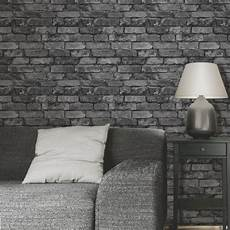 Tapete Schlafzimmer Grau - decor rustic brick effect wallpapers feature wall