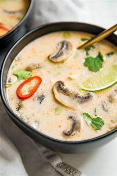tom kha suppe best tom kha gai thai coconut soup rezept