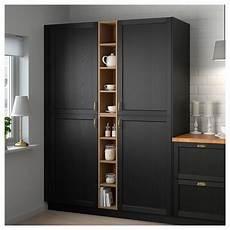 Kitchen Storage Furniture Ikea Ikea Vadholma Open Storage Brown Stained Ash Diy