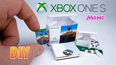 diy realistic miniature xbox one s dollhouse unboxing