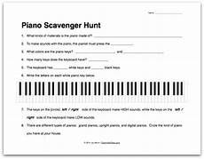 beginner piano worksheets worksheet about the piano scavenger hunt color in my piano