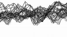 Simple Abstract Black And White abstract simple black and white waving 3d grid or mesh as
