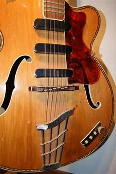 guitar for sale hoffner archtop electric 1940 s guitar for sale instrumentshoppen