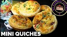 Quiche Teig Rezept - mini quiches recipe finger food msdessertjunkie