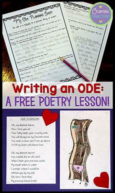poetry lesson plans for high school 25409 free poetry lesson for elementary and middle school students write an ode assessments