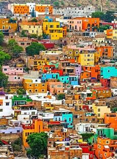 homes with a colorful city 10 of the most colorful cities in the world mexico