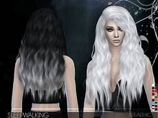 custom content hair sims 4 sleepwalking female hair by stealthic at tsr 187 sims 4 updates