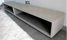 meuble tv beton ciré table beton cire par stuc co meubles tv b 233 ton cir 233