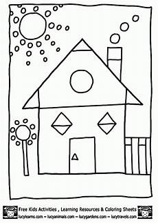 shapes coloring worksheets for kindergarten 1063 get this easy preschool printable of shapes coloring pages qov5f