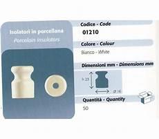 gambarelli illuminazione isolatori in ceramica