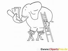 Insekten Malvorlage Kostenlos Elefant Malbuch