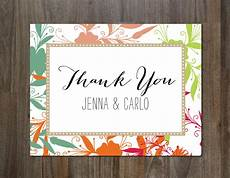 thank you card template free photo the best thank you cards template designs