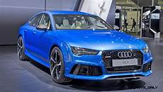 Rs7 2017 Sportback With A Colour by 2016 Audi Rs7 Makes Moscow Debut With Updated Leds