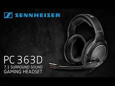 Sennheiser Pc 363d Gaming Headset 7 1
