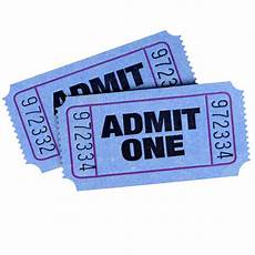 Two Blue Admission Tickets Photo Free