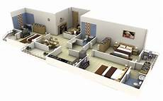 3 bedroomed house plans 3 bedroom apartment house plans smiuchin
