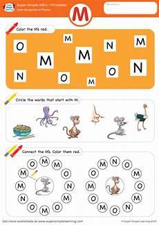 letter m recognition worksheets 24313 letter recognition phonics worksheet m uppercase simple