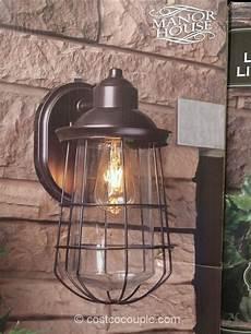 manor house vintage led coach light costco our picks led exterior lighting garage lighting