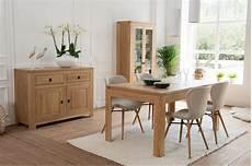 salle a manger bois moderne table de salle 224 manger moderne extensible en chene hellin