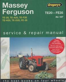 small engine repair manuals free download 1995 ford mustang parking system massey ferguson te20 fe35 tractors owners service and repair manual sagin workshop car