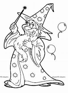 Zauberer Ausmalbilder Kostenlos Malvorlagen Fasching Ausdrucken Malvor