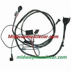 Engine Wiring Harness V8 64 Pontiac Gto Lemans Tempest