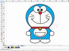 Membuat Gambar Doraemon Dengan Coreldraw Minat Belajar