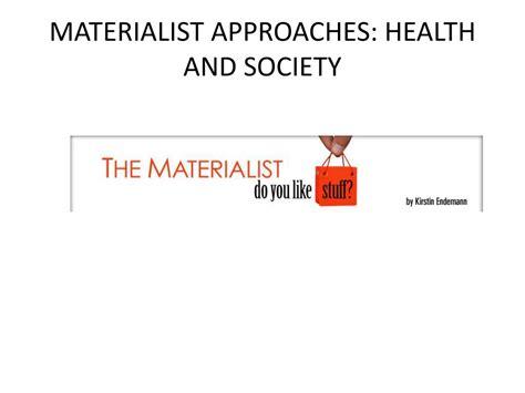 Materialist Analysis
