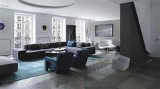 Grauer Boden Wohnzimmer - grey hardwood floors in interior design and cool color