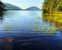 Eagle Lake Acadia National Park Maine North Side At Bar