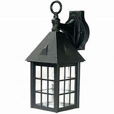 acclaim lighting outer banks collection 1 light matte black outdoor wall fixture 72bk