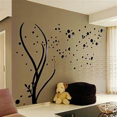 Home Decor Ideas Wall Stickers by Free Shipping 3d Acrylic Mirror Wall Stickers Living
