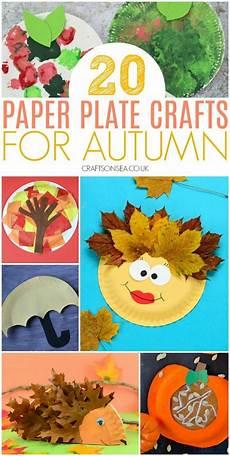 Einfache Malvorlagen Herbst 20 Einfache Und Lustige Herbst Pappteller Basteln Herbstgq