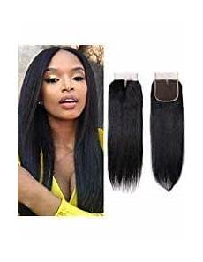 Amazon Com 3 Part Lace Closure Straight With Amazon Com Brazilian Virgin Human Hair Closure Straight