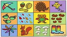 Malvorlagen Jahreszeiten Text Herbst Teddylingua
