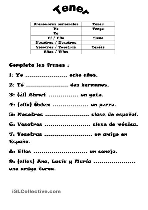 Subjuntivo Spagnolo