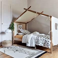 lit 1 place cabane en pin massif 90x200 cm alouette