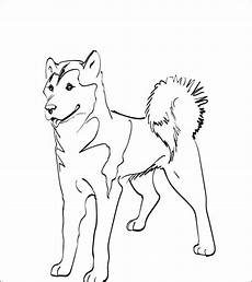 malvorlage hund zum ausdrucken