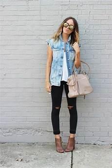 Jeansweste Kombinieren 20 Moderne Style